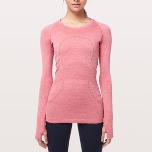 [Lululemon] Pink Long Sleeve Swiftly Size 4